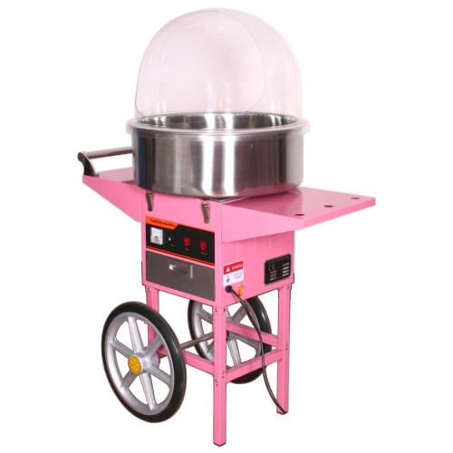 carro de algodon rosa de 120 cm de altura