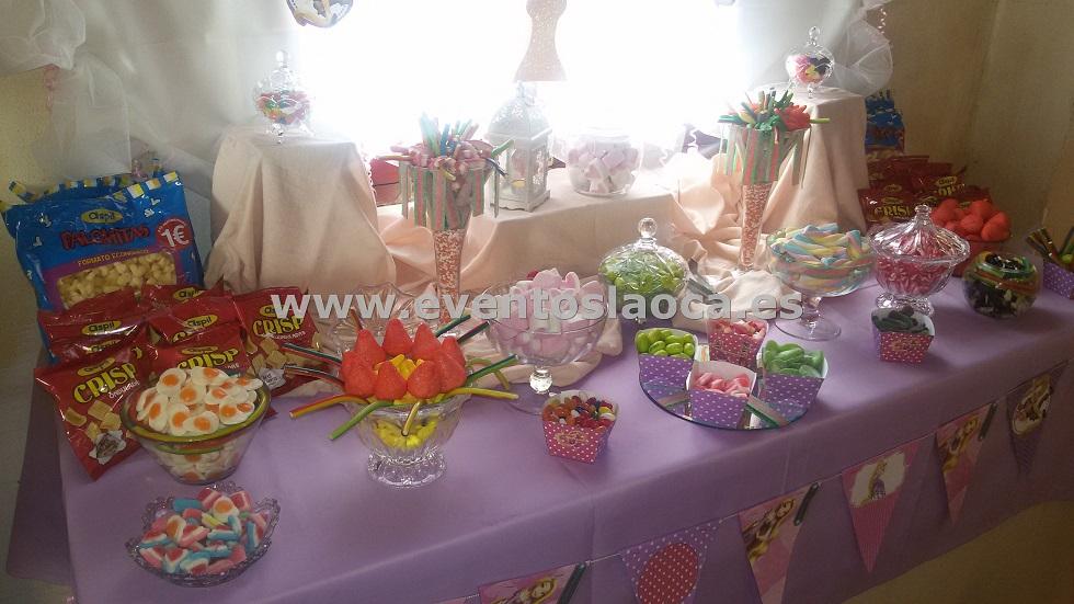 candybar buffet de golosinas