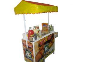 alquiler carro hotdogs