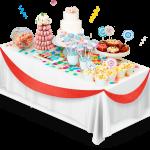 candybar buffet golosinas